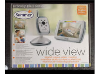 Summer Wide View Digital Video Monitor