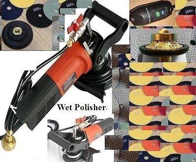 34 Bullnose Granite Counter Top Wet Polisher Concrete Polishing Pad Travertine