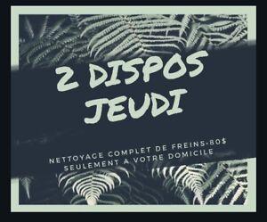 NETTOYAGE DE FREINS COMPLET • SUPER RABAIS