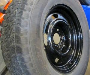 Wnter  tires and rims(2) 225/70R15
