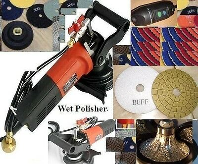 Wet Polisher Grinder 1 14 Half B30 Bullnose Granite Router Bit Pad Damo Buff