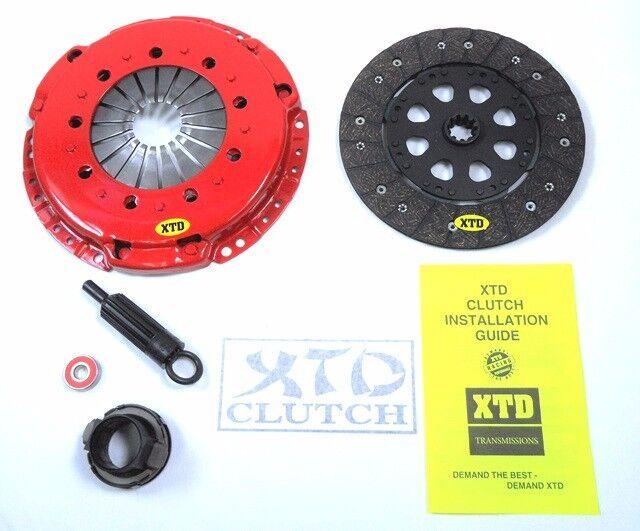 XTD STAGE 2 HD CLUTCH KIT 96-99 BMW M3 3.2L E36 S52 98-02 Z3 M COUPE ROADSTER