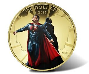 Superman vs Batman Gold coin