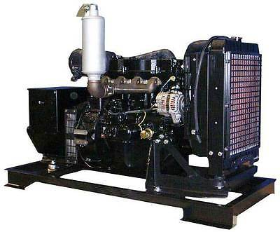 30kw Single Phase 120240 V Mitsubishi Diesel Generator Set New Engine