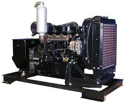 30KW Distinct Configuration 120/240 V Mitsubishi Diesel Generator Set NEW Motor