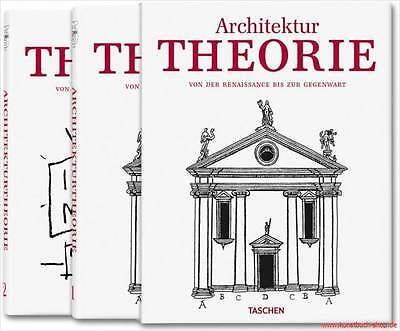 Fachbuch Architektur-Theorie von der Renaissance bis zur Gegenwart, 2 Bände, NEU