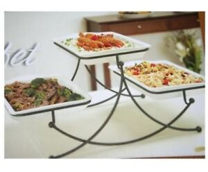 3 tier buffet server (great for entertaining)