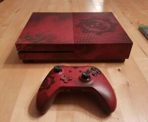 LIMITED EDITION GEARS OF WAR XBOX ONE S 2TB CONSOLE