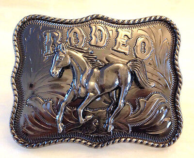 Rodeo Cowboy Blet hebilla grande Vaquero Accesorios Oeste adornos-unisex