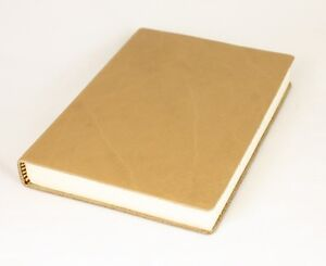Italian-Leather-Lined-Journal-Notebook-PISA-Medium-Beige