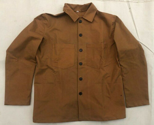 US Army M1885 Brown Canvas Jacket size 42