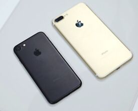 iPHONE 7 & 7 PLUS 32GB, WITH SHOP RECEIPT & WARRANTY, GOOD CONDITION, UNLOCKED