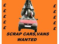 WANTED SCRAP CARS 4X4 VANS IN NORTH LONDON CASH PAID TODAY SAMEDAY COLLECTION CALL TODAY ANY MAKE