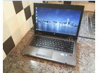 "HP 6460b ProBook 14.1"" LAPTOP, FAST CORE i5 3.10GHz, 6GB, 250GB, WIFI, BLUETOOTH, DVDR, WEBCAM, WIN7"