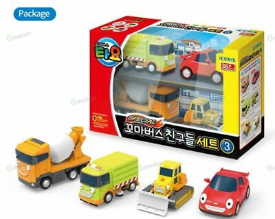 The Little Bus TAYO Friends Mini Special Set 4 pcs Toys Rubby Biily Speed Chris