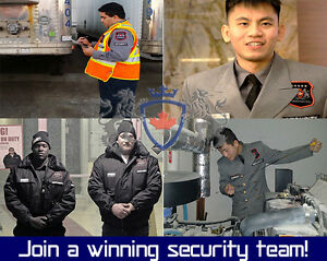 how to become a security guard in toronto