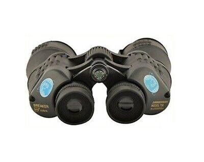 Binocolo Binocular 7 x 50 Breaker Cobra con Bussola Gommato