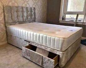 🎁 Divan bed sets optional Mattress/Drawers
