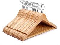 x24 wooden clothes / coat hangers