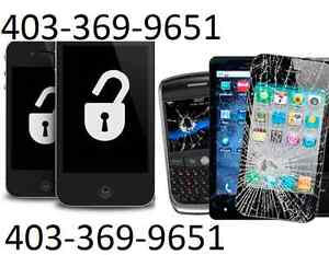 We Repair & Unlock almost all the phones/Computers 403-369-9651