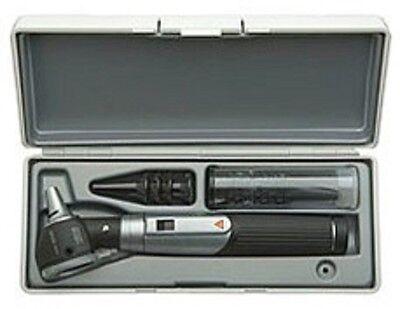 Heine Mini 3000 Fo Otoscope W Mini 3000 Battery Handle Case D-001.70.110 New