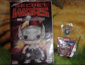 Marvel Collector Corps bundle - comic, patch and pin