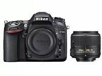 Nikon D7100 + Nikon 18-55 Lens