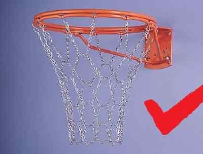 Metall Basketballnetz,verzinktes Metallnetz Ketten Netz Stahl