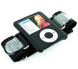 iPod Nano  3G Sports Armband case - Black 3rd GEN