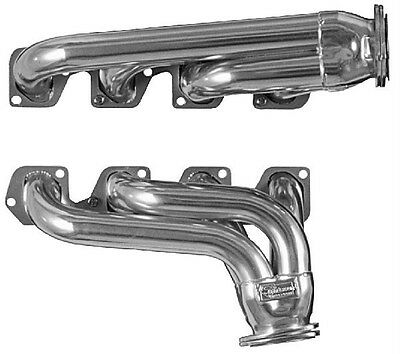 Ford 1972 - Up Ford F100 Pickup Truck Cleveland Silver Coated Exhaust Headers