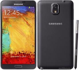 Samsung note 3/ Unlocked/ Grade B