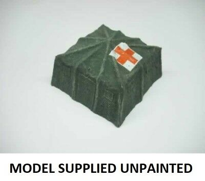 TEN - MAN MILITARY TENT - RESIN MODEL - 1/72 scale - AHS48