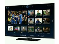 """Samsung 40"""" LED smart 3D wifi built USB MEDIA PLAYER HD FREEVIEW and Screen mirror full hd"""