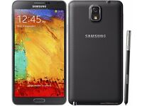 SAMSUNG GALAXY NOTE 3 UNLOCKED GRADE A - RECEIPT AND WARRANTY