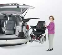 Lift to lift mobility scooter or power chair into van ,SUV