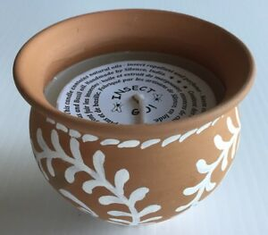 NEW Ten Thousand Villages: Clay pot with citronella candle