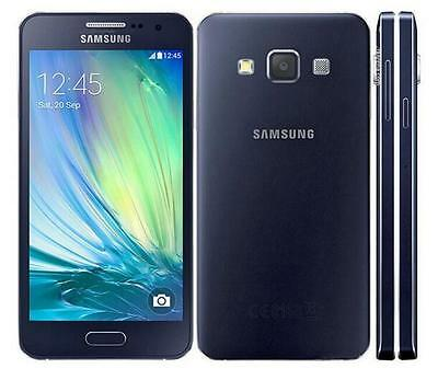 New Original Samsung Galaxy A3 SM-A300FU 16GB Smartphone Midnight Black
