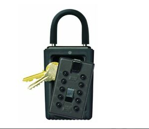 Kidde 001406 3-Key Portable Push Button Key Safe, Black