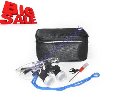 Luxury Dental Surgical Medical Binocular Loupes 3.5x 420mm Optical Glass Loupe