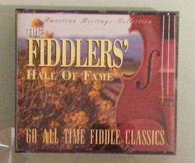 american heritage the fiddlers hall of fame  60 ALL TIME FIDDLE CLASSICS  CD ()