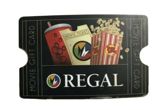 Regal Cinemas Gift Card 13.04 - $10.00