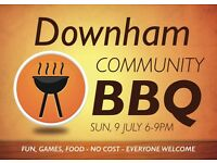 FREE COMMUNITY BBQ - EVERYONE WELCOME