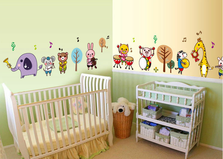 Top Wall Borders for Nurseries