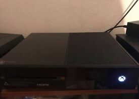 Xbox one and 7 games
