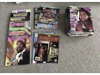 42 Vintage WWF magazines
