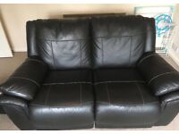 Two double recliner sofas