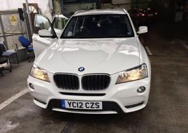 Price Reduced !!BMW X3 2012 plate 81000 miles
