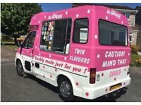 31d4dc6a8a9866 Original Whitby morrison ice cream van for sale £13000
