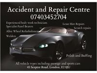 EastEnd Accident and Repair Center Cars Vans motobikes panel beaters welders respray