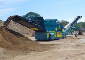 Revolver Trommel Screen- topsoil,gravel,sand